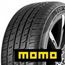 Vyzkoušejte na Vašem vozidle pneumatiky MOMO. Momo m30 toprun jsou pneumatiky nesoucí jméno známé italské společnosti zabývající se autopříslušenstvím a tunningem. Jistě znáte špičkové výrobky od této společnosti jako volanty, alu kola a řadu doplňků. Nyní můžete od této proslulé značky vyzkoušet i pneumatiky!