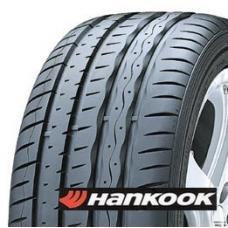 Hankook Ventus S1 EVO je letní pneumatika pro maximální výkon. Pneumatika pro sportovně naladěné řidiče, která zaručuje dobrou vodivost i při vysokých rychlostech. Sportvní asymetrický dezén se širokými obvodovými drážkami a křemičitá směs zajišťijí přesné řízení a dobrý brzdný účinek za sucha i na mokré vozovce. Zesílená konstrukce s ocelovými pásy se stará o pevnost pneumatiky minimalizuje rozhození v zatáčkách a za velké rychlosti.
