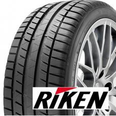 Letní pneumatiky RIKEN ROAD PERFORMANCE nabízejí kvalitní jízdní vlastnosti za velmi dobrou pořizovací cenu. Tyto pneumatiky a značka RIKEN spadají do koncernu MICHELIN a pro svůj vývoj využívají koncernové technologie. Sháníte-li pneumatiku, která Vám nabídne maximum a zároveň řešíte nižší pořizovací náklady, Riken Road Performance bude jistě dobou volbou.