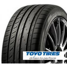 Toyo Proxes C1S je nová letní prémiová pneumatika určená pro prémiové a luxusní sedany. Díky stabilitě i při vysoké rychlosti a  nízkému valivému odporu poskytuje pneumatika vysoký komfort a zároveň snižuje spotřebu paliva a prodlužuje délku spotřeby. Toyo PROXES C1S poskytuje velice klidnou a kultivovanou jízdu a cítit se budete naprosto bezpečně i na mokré silnici, kde se výrazně snižuje riziko vzniku aquaplaningu.