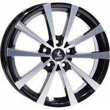 """alu kola ITWHEELS alice gloss black polished Gloss Black / Polished 7,5x18"""" 5x108 ET45 74,1"""