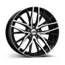 """alu kola AEZ panama dark Gunmetal polished 8,5x20"""" 5x108 ET45 63,4"""