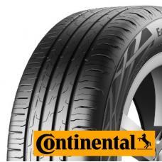 Letní pneumatika Continental Eco Contact 6 je prvotřídní pneumatika s německou technologií zajišťující výborné vlastnosti při jízdě za jakéhokoliv počasí. Rovnoměrné rozložení siliky a nízký valivý odpor zajišťují maximální komfort a dlouhou životnost pneumatiky. Jistě ocení dobrý záběr a kvalitní vedení pneu po silnici i za zhoršených podmínek (déšť, štěrk apod) Pneumatiky Continental se řadí vždy mezi nejlepší pneu v daném segmentu a my nemůžeme jinak než Vám tuto značku doporučit:)