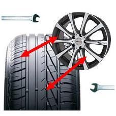 """Objednáte-li si u nás pneumatiky i alu kola (ocelová kola), můžeme Vám je poslat zkompletované. Za 145kč za 1kolo Vám kola zkompletujeme (obujeme a vyvážíme). Pozor objednáváte-li celou sadu (4x pneu a 4x alu kola), je třeba zadat do objednávky """"počet kusů"""" 4. Jeden kus = 1 zkompletované kolo!!!"""