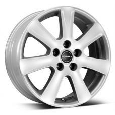 Barva: stříbrná-briliant Alu kola Borbet CA patří mezi nejprodávanější kola vzhledem k velmi pěknému designu, kvalitnímu provedení a příznivé ceně. Sedm paprsků protáhlých do límce vytváří u litého kola Borbet CA přirozenou eleganci a pocit opticky většího kola.