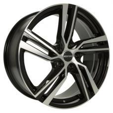 "alu kola GMP Arcan black polished 7,5x17"" 5x108 ET45 63,4"