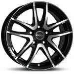 "alu kola PROLINE PXV Black Polished Black Polished 6,5x16"" 5x110 ET38 65,1"