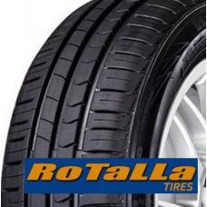 Letní pneumatiky Rotalla RH02 splňují dobré jízdní vlastnosti i při vyšší rychlosti, dezén se čtyřmi kanály dobře odvádí vodu a zajišťuje dobrou přilnavost na mokré vozovce.