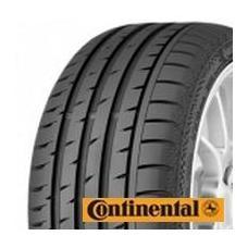 Nová pneumatika ContiSportContact 3 je další generací oblíbených pneumatik ContiSportContact. V porovnání s předchůdcem byla brzdná dráha na suché i mokré vozovce zkrácena o dalších 5% , odolnost vůči vzniku aquaplaningu byla zlepšena o vynikajících 6% a valivý odpor snížen o 5%. Inovovaný asymetrický dezén s 3D drážkami, byl konstruován s ohledem na zlepšení bezpečnosti při náhlých a prudkých řídících manévrech. Dezénové pásy se pouze minimálně deformují, takže kontaktní plocha s vozovkou zůstává konstantní i při zatáčení ve vysokých rychlostech