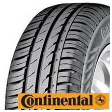 Continental EcoContact 3 je určena pro rychlostní kategorii T/H. Inovovaná silika směs s novým polymerním konceptem přináší novou míru bezpečnosti na suchých a mokrých vozovkách. Excelentní zkrácení brzdné dráhy je dosaženo použitím tuhého asymetrického dezénu pneu, osvědčeného bionického profilu a moderního konceptu běhounové směsi (zkrácení brzdné dráhy pneu proti předchůdci až o 10%). Charakter pásového dezénu snižuje opotřebení pneumatik a zároveň nabízí zákazníkům další benefit: nízkou spotřebu paliva.