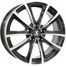 """alu kola ITWHEELS elena gloss black polished Gloss Black / Polished 8x18"""" 5x120 ET30 72,6"""