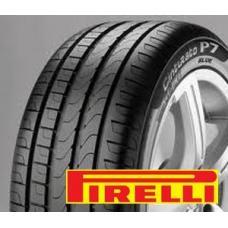 Pneu PIRELLI P7 Cinturato Pneumatika Pirelli P7 Cinturato je určená především pro nejnovější generaci automobilů od středního po nejvyšší výkon a je přínosem pro výkon za mokra, přesném zatáčení, bezpečnosti při brzdění a navíc má dlouhodobou schopnost zachovat si tyto vlastnosti.  Pneumatika je bezpečná a výkonná při řízení, což vede k efektivnosti pneumatiky na mokrém povrchu, jistém brzdění, zatáčení, reakci řízení a také pohodlné dlouhé jízdě po dálnici.  Dezén pneumatik Pirelli P7 Cinturato Atraktivní vzorek pneu Pirelli P7 Cinturato spojuje styl s agresivním vzhledem. Vzorek pneumatiky je vytvořen tak, aby maximalizoval ovládání na jakémkoli povrchu, při trakci, brzdění a boční přilnavosti i při extrémním zatáčení.