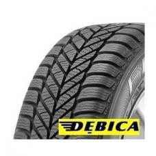 DEBICA FRIGO 2 – zimní pneumatiky vyrobené z nově vyvinuté směsi, která zajišťuje pružnost i při nízkých teplotách. Směrový dezén a zvýšený počet drážek poskytují  vyšší odvádění vody a rozbředlého sněhu, zvyšují odolnost vůči aquaplaningu. Pevné ramenní bloky poskytují vynikající ovladatelnost pneumatik v zatáčkách. Jízda na těchto pneumatikách je tichá.