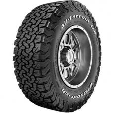 BFGOODRICH all terrain t/a ko2 245/75 R17 121S TL LT M+S 3PMSF LRE RWL, letní pneu, osobní a SUV