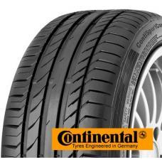 Letní high-performance pneumatika Continental SportContact 5 Vám nabídne maximální zábavu a jistotu za volantem. Tato inovativní pneumatika poskytuje skvělou vodivost v zatáčkách a ideální chování za každého počasí. Conti sportcontact 5 je určena pro vysokovýkonné vozy. Složení běhounu je postaveno tak, aby byla optimálně roznášena třecí síla působící na malé plochy běhounových kostek. Pneumatika rovnoměrně přenáší sílu a snižuje třecí plochu. Zároveň nedochází k deformaci pneu. Pneumatika Continental SportContact 5 je často užívaná do prvovýroby u takových značek jako AUDI nebo BMW, což samo o sobě hovoří o vysokých kvalitách těchto pneu.