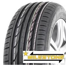 Pneumatiky MILESTONE Greensport jsou moderní pneumatiky, které zajišťují stabilní jízdní vlastnosti na suché a mokré vozovce. Mezi pozitivní vlastnosti této pneumatiky patří bezesporu vysoký kilometrový nájezd a rovnoměrné opotřebení běhounu.