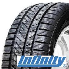 INFINITY INF-049 – zimní pneumatiky pro malé a střední vozy. Asymetrické dezén ze směsi s přídavkem siliky poskytuje výjimečnou trakci ve všech podmínkách. Široké obvodové drážky, propojené s drážkami na ramenou rychle odstraňují vodu a rozbředlý sníh. Dobrý brzdný výkon